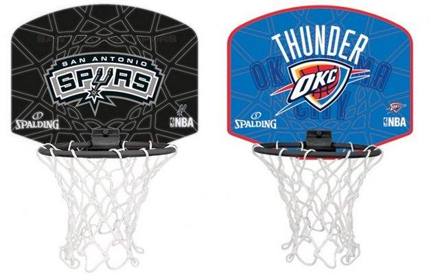 Spalding - NBA Miniboard mit versch. Vereinslogos für je 11,72€ inkl. Versand