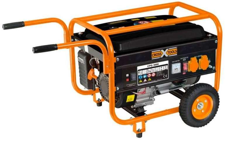 Cross Tools 68035 CPG 3000 Stromerzeuger (15L Tank) ab 177€ (statt 263€)