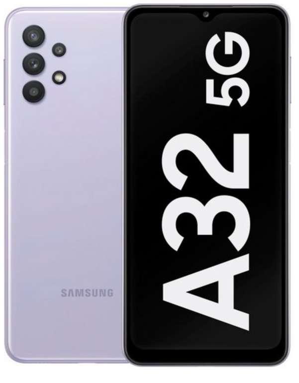 Samsung Galaxy A32 5G Smartphone (6,5 Zoll, 64 GB Speicherplatz, 48 MP Kamera) für 177,94€ inkl. Versand
