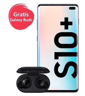 Samsung Galaxy S10+ (512GB) (weis,schwarz) + Galaxy buds für 773,99€ inkl. Versand (statt 905€)