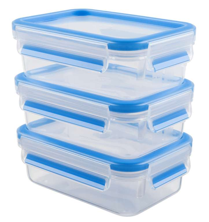 3er Set Emsa Frischhaltedosen in blau für 6,39€ inkl. Prime Versand (statt 10€)