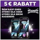 Offline: 5€ Rabatt auf Wilkinson Hydro Silk (Bikini) Rasierer dank Coupon!