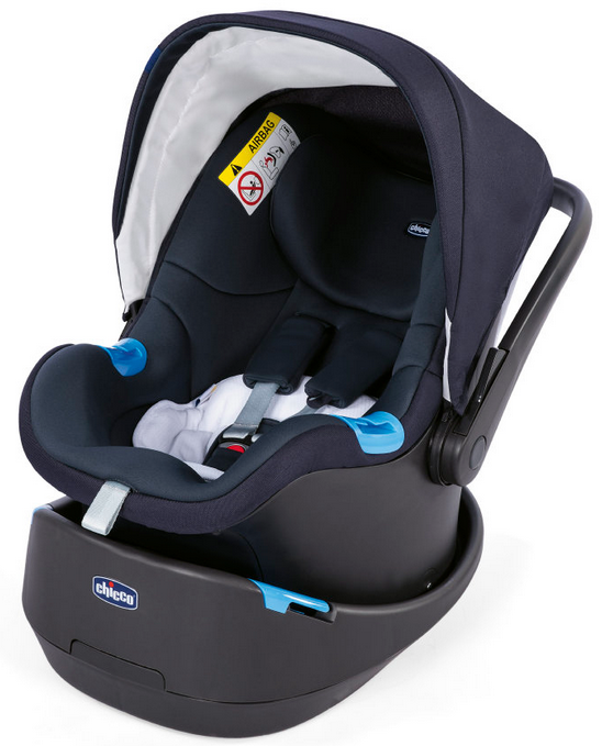 Chicco Babyschale Oasys 0+ Up blau/rot für 89,99€ inkl. Versand (statt 130€)