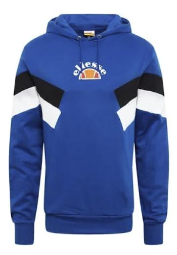 Ellesse Sweatshirt 'SALVADI' in blau / schwarz / weiß für 35,92€inkl. Versand (statt 65€)