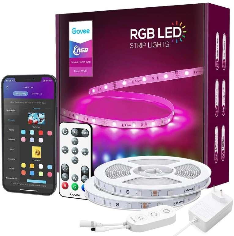 Govee 15m RGB LED Streifen (Alexa/Google Assistant, App) für 29,99€ inkl. Versand (statt 45€)