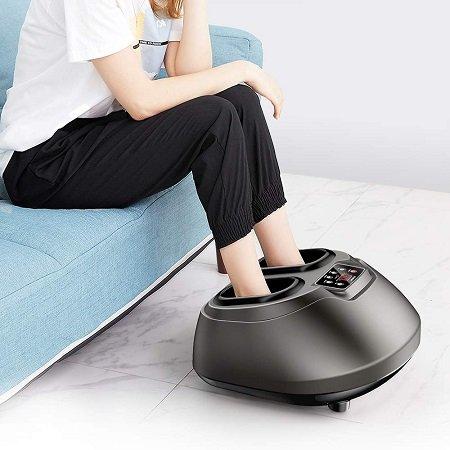 Arealer elektrisches Fußmassagegerät mit Wärme für 84,99€ inkl. VSK