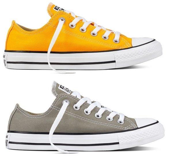 2x Converse Chuck Taylor All Star Seasonal Color Low Top Schuhe für zusammen nur 42,48€