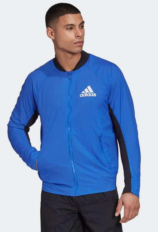 Adidas Performance Bomberjacke in Blau für 27,99€inkl. Versand (statt 33€)