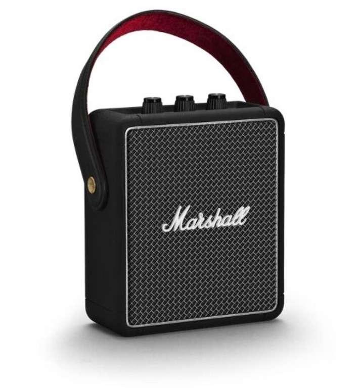 Marshall Stockwell II Bluetooth Lautsprecher mit 20W RMS & AUX-In für 122,99€ (statt 150€)