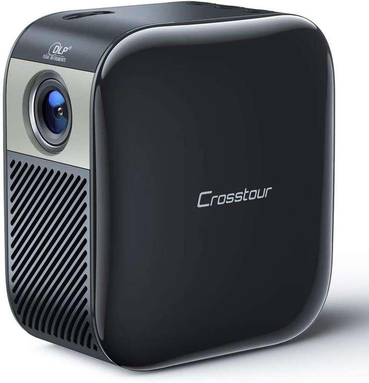 Crosstour 1080P Mini Beamer mit integriertem 3.000 mAh Akku für 129,99€ inkl. Versand (statt 189€)