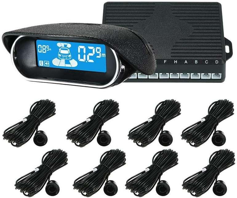 KKmoon Einparkhilfe mit Display und 8 Sensoren für 34,59€ inkl. VSK (statt 41€)