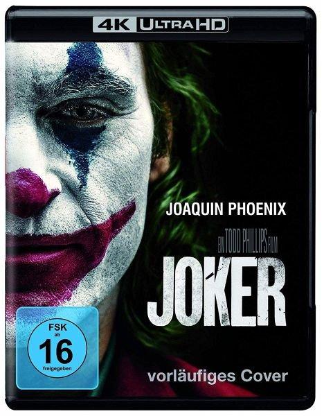 Joker (Blu-ray, 4k) für 25,79€ inkl. Versand (statt 32€)