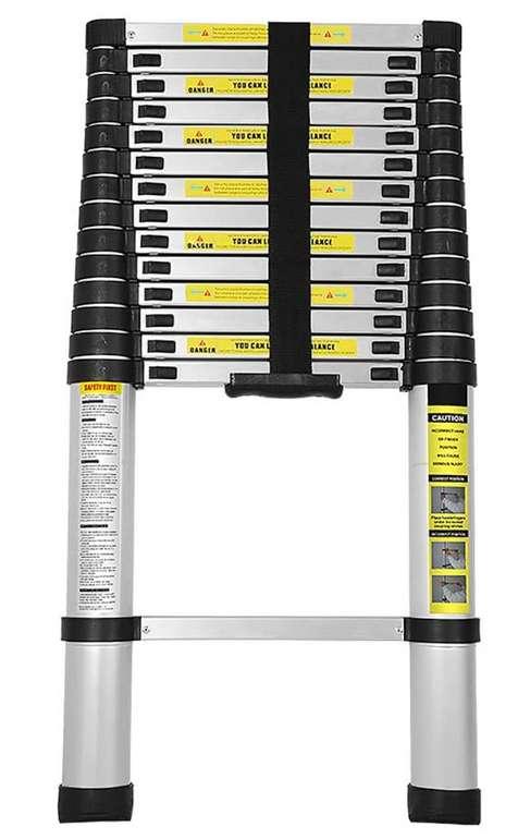 Bomt Alu Teleskopleiter mit bis zu 150 kg Belastbarkeit für 63,69€ inkl. Versand (statt 91€)