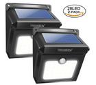 2 St. Neloodony LED Aussen Solarleuchte (Bewegungsmelder) für 8,99€ mit Prime