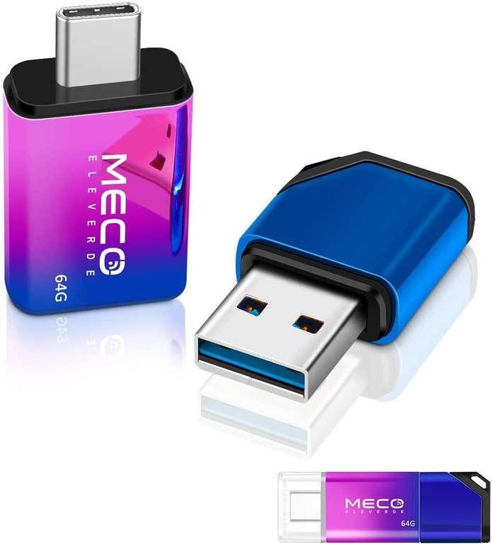Meco Eleverde USB A & C Stick mit 128GB für 14,99€ inkl. Versand (statt 30€)