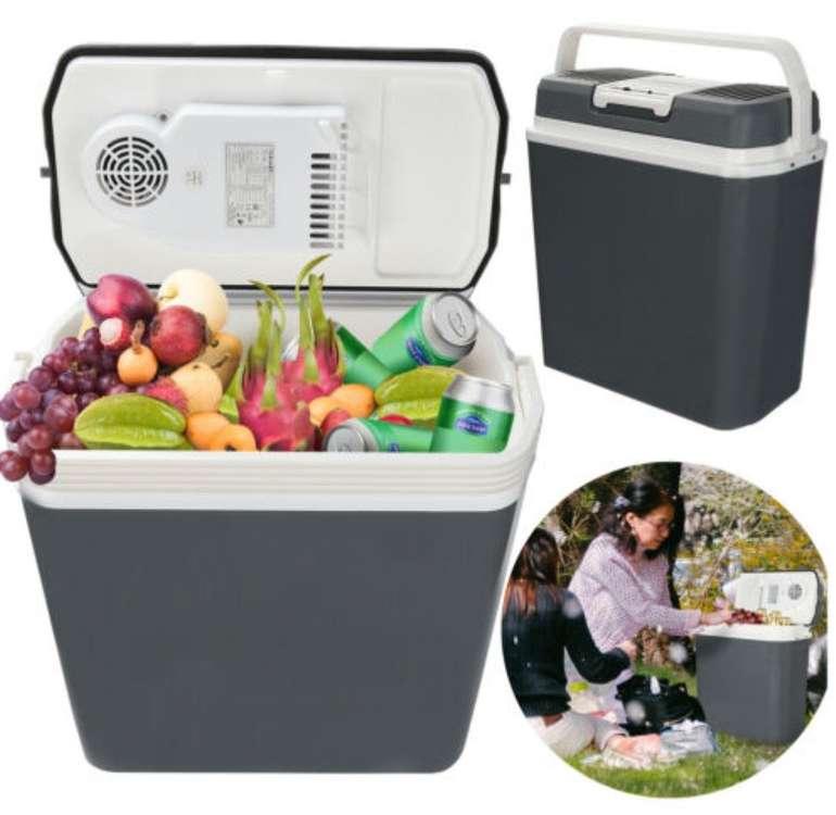 Vingo Kühlbox mit 24 Liter Volumen + 12V und 230V Anschluss für 33,50€ inkl. Versand (statt 40€)