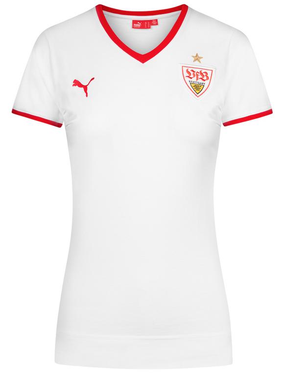 VfB Stuttgart Puma Damen Fan T-Shirt für 8,94€ inkl. Versand (statt 15€)