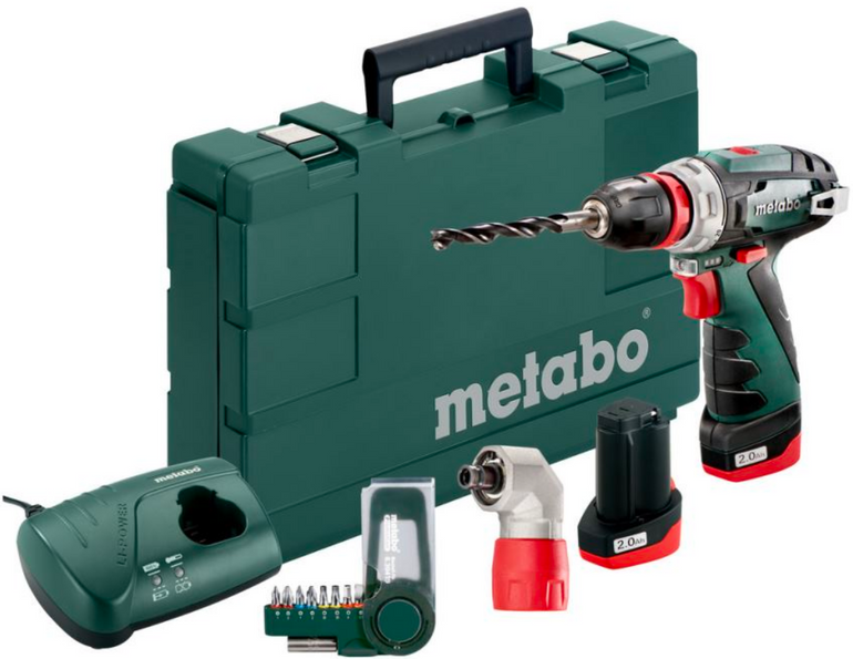 Metabo Akku Bohrschrauber PowerMaxx Basic für 97,29€ inkl. Versand (statt 139€)
