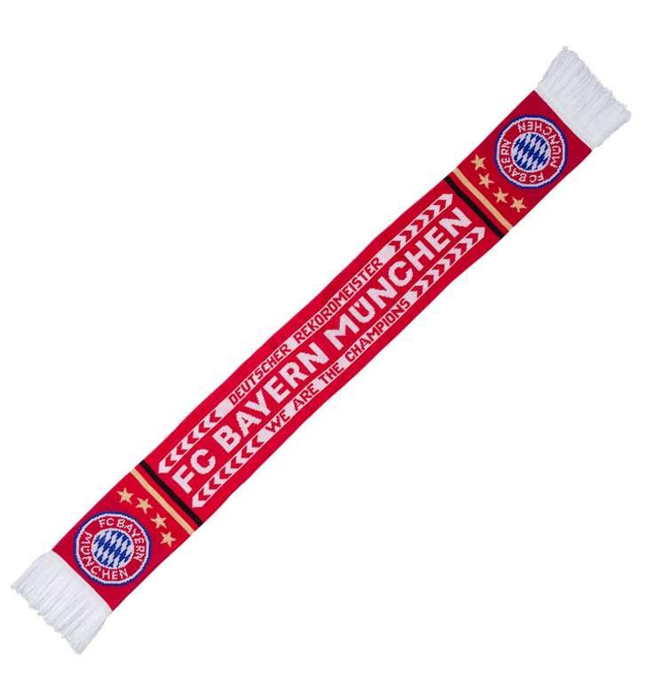"""FC Bayern München Schal """"We Are The Champions"""" Fanschal für 10,26€ inkl. Versand (statt 14€)"""