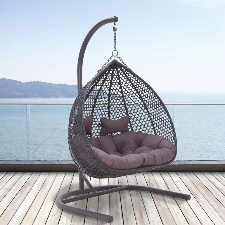 Bassagi Garden Hängesessel Bari (2-Sitzer, max. 240kg) für 264,20€ (statt 300€)