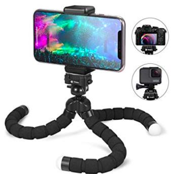 Flexibles Fotopro Stativ für Kameras und Smartphones nur 10,40€ (Prime)