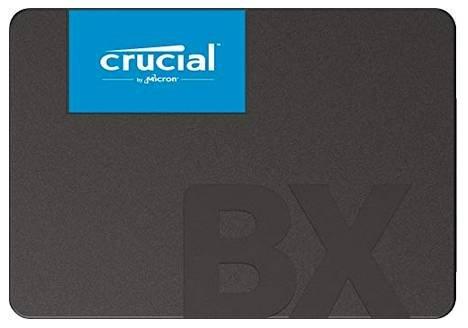 Crucial BX500 – 2,5 Zoll SSD (intern) mit 960GB Speicherplatz für 81,19€ inkl. Versand (statt 93€)