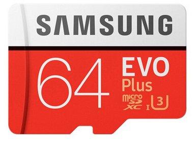 Samsung microSDXC 64GB EVO Plus für 10€ inkl. Versand (statt 13€)