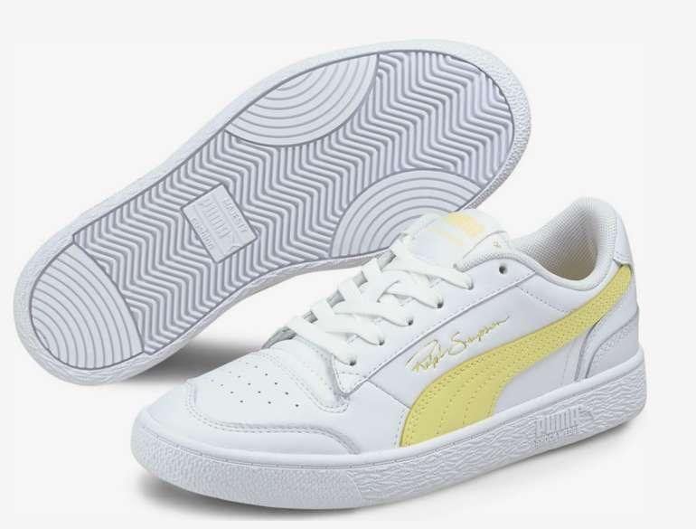 Puma Ralph Sampson Herren Schuhe in Weiß/Gelb für 23,96€ inkl. Versand (statt 44€)