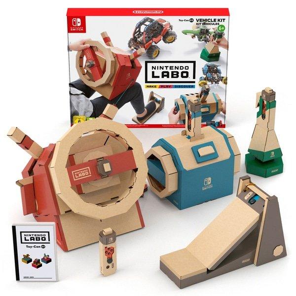 Schnell? Nintendo Switch Labo Toy-Con 03 Fahrzeug-Set für 21,98€ (statt 35€)