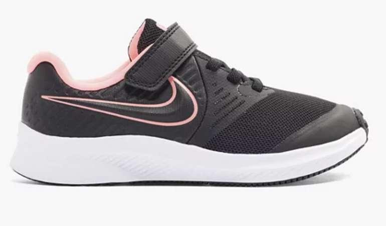 Nike Trainingsschuh Star Runner 2 in schwarz für 17,49€inkl. Versand (statt 30€)