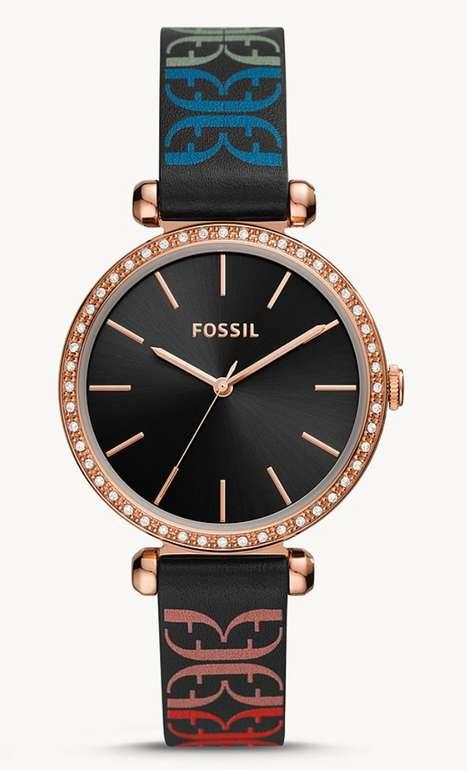 """Fossil Armbanduhr """"BQ3645"""" Tillie 3-Zeiger-Werk Leder in schwarz für 41,30€ inkl. Versand (statt 99€)"""