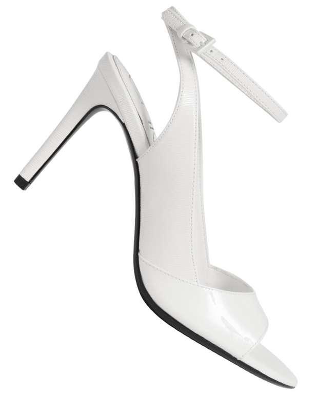 Calvin Klein Schuh Sale mit bis zu 73% Rabatt - z.B. Rad Liquid Patent Damen Heel Sandalen für 39,99 (statt 140€)