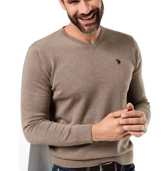 U.S. Polo Assn. Herren Baumwoll-Pullover (vers. Farben & Größen) für 31,19€ inkl. Versand (statt 70€)