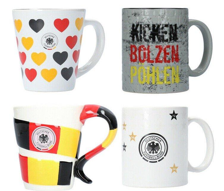 DFB Nationalmannschaft Deutschland Tassen für je 7,95€ inkl. Versand  (statt 10€)