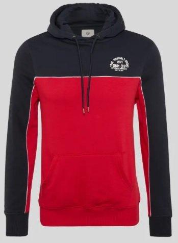C&A Männer Sweatshirt in rot/schwarz für 11,99€ inkl. Versand (statt 16€)