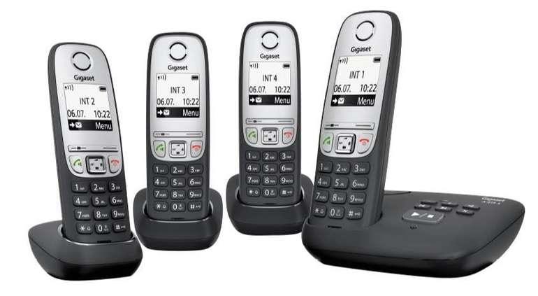 Gigaset A415A Quattro Schnurlostelefon für 63,99€ inkl. Versand (statt 95€)