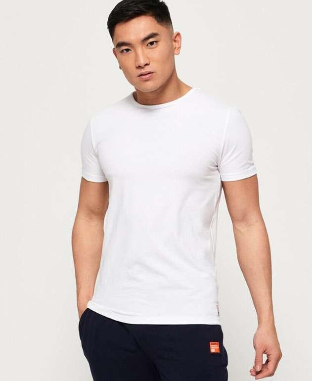 Superdry - 3er Pack Herren T-Shirts 'Laundry' (2 Farben) für je 17,50€ inkl. Versand (statt 39€)