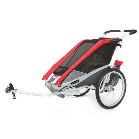Thule Kinderfahrradanhänger Chariot Cougar 1 Red für 499,99€ inkl. VS (VG: 599€)