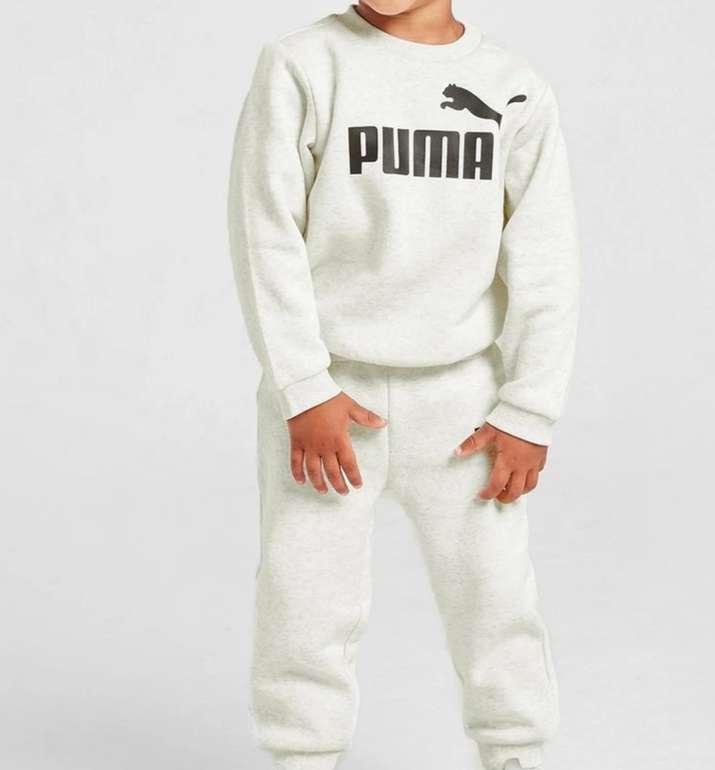 JD Sports Sale mit bis zu 50% Rabatt - z.B. Puma Core Logo Crew Trainingsanzug Baby für 22€ (statt 35€)