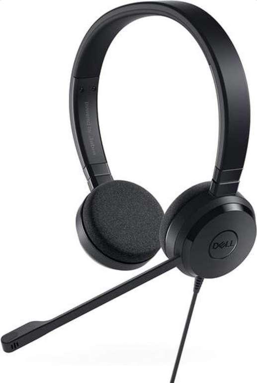 Dell Pro Stereo Headset UC150 (On-Ear, USB, 4-Tasten-Fernbedienung, Skype for Business-Zertifizierung) für 34,85€