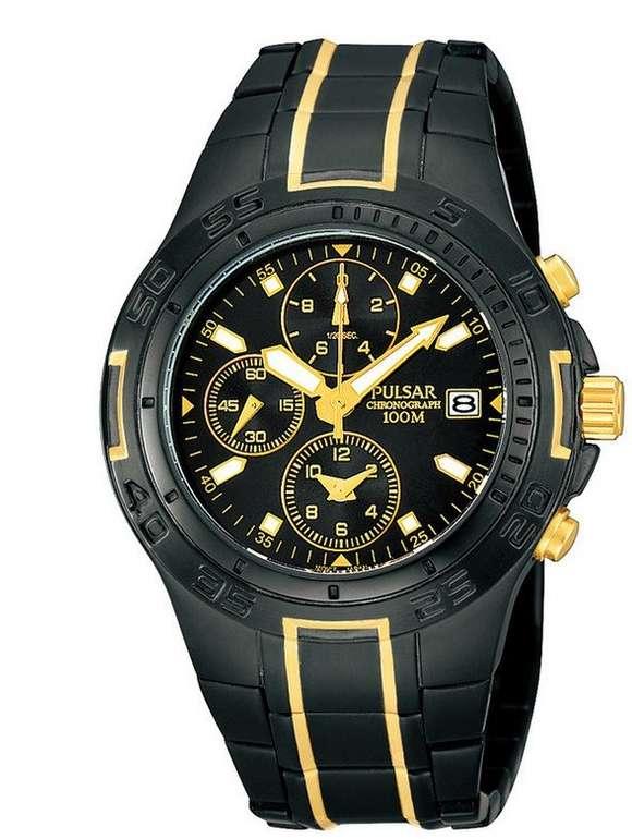 """Pulsar Herren Armbanduhr""""PF8413X1"""" (Japanisches Quarzwerk, 10 ATM) für 75,90€ (statt 96€)"""