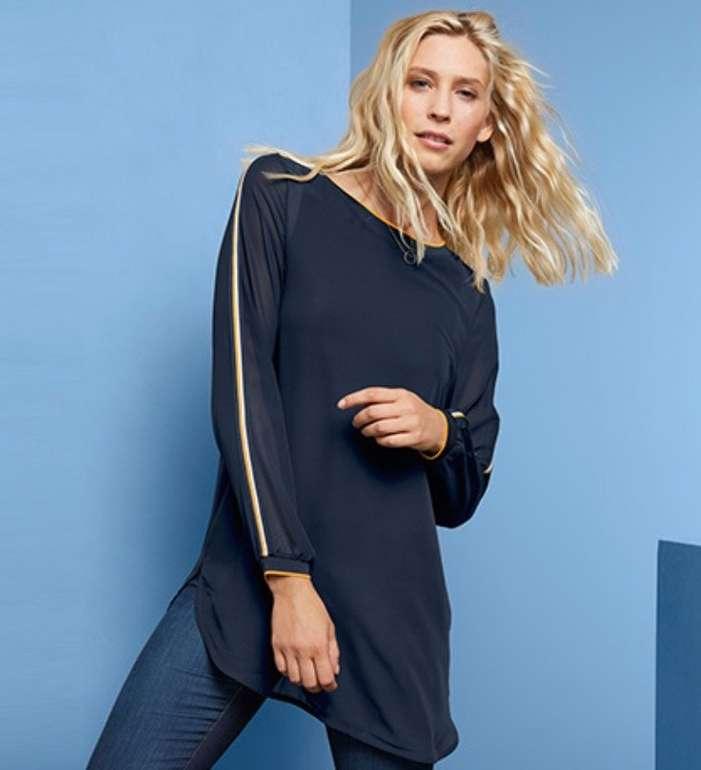 Tchibo Flash Sale mit bis zu -70% Rabatt - z.B. Damen Doublelayer-Shirt für 13€ (statt 25€)