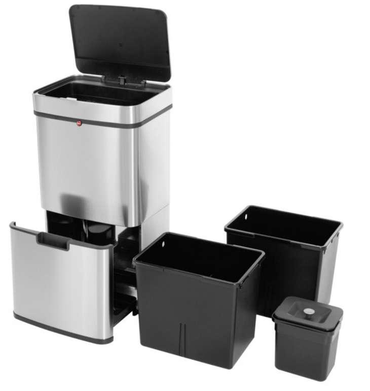 Hailo Tret-Abfalltrenner Öko Vario XL 25 Liter Edelstahl Anti-Fingerprint für 114,59€inkl. Versand (statt 134€) - Newsletter!