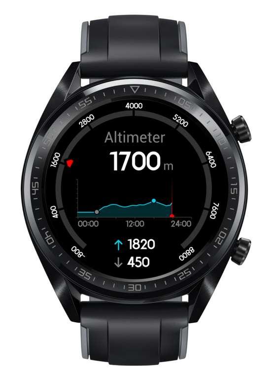 Huawei Watch GT Active Smartwatch in schwarz für 89€ inkl. Versand (statt 103€)