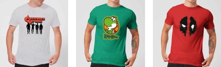Zavvi T-Shirts Rabatt 2