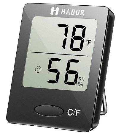 Habor - Digitales Thermo-Hygrometer für 6,99€