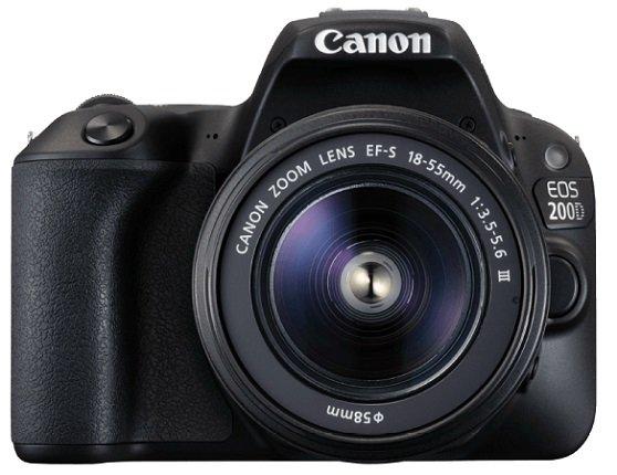 Canon EOS 200D Kit Spiegelreflexkamera + Objektiv für 444€ inkl. Versand
