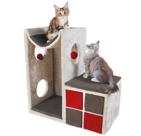Trixie Katzenturm Cat Tower Nevio für 49,99€ inkl. Versand (statt 88€)