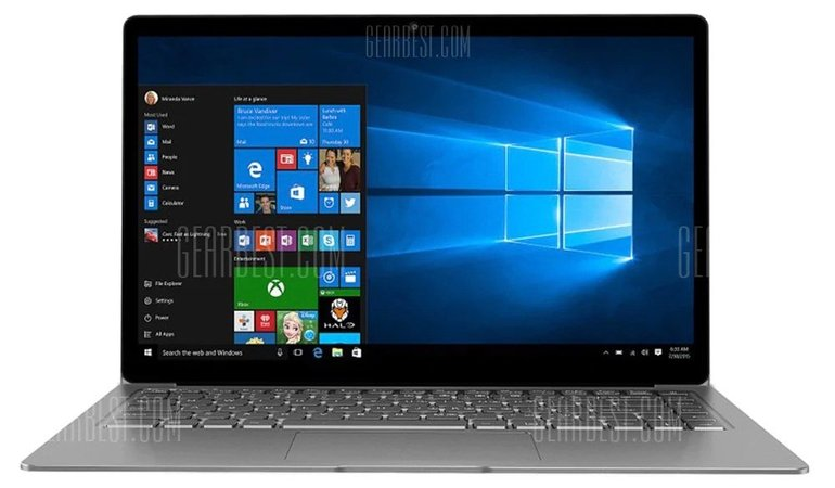 "Chuwi Lapbook Air (14,1"" FHD, Quad-Core, 8GB RAM, 128GB SSD, Win10) für 321,90€"