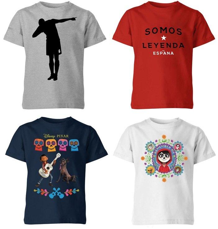 2 Coco- oder Fußball Kinder-Shirts für nur 17,39€ inklusive Versand
